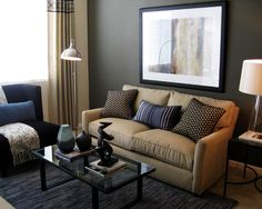 Living Room Gray Drapes Design, Pictures, Remodel, Decor and Ideas - page 11