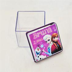 Caixa 5x5 Personalizada Frozen, 10 unidades por R$ 39,00