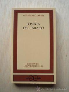La noche del sábado 26 de abril celebramos y leemos a Vicente Aleixandre
