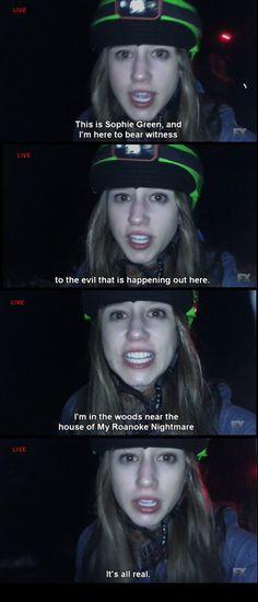 American Horror Story: Roanoke Pinterest : Sally ThatGurl ☢