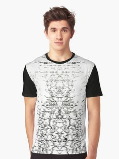 AntiLine by Nymths.#hurricane #tornado #move #love #pattern #design #decor #home #room #homedecor #roomdecor #fashion #ootd #dark #redbubble #blackandwhite #graphicdesign #graphictee #kawaii #cute #art #illustration #crystals #lineart