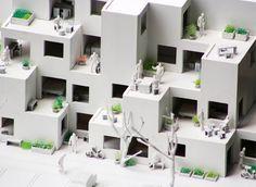 Competição Habitação Social de Alvenaria,modelo 02