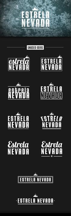ESTRELA NEVADA // journalistic story identity concept