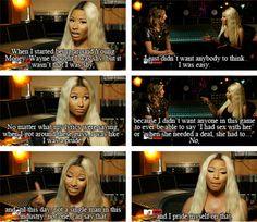 Truly, truly wise. | 13 Reasons Why Everyone Should Be More Like Nicki Minaj