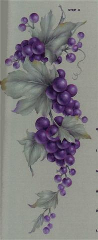 Grapes on the vine by Joretta Parker