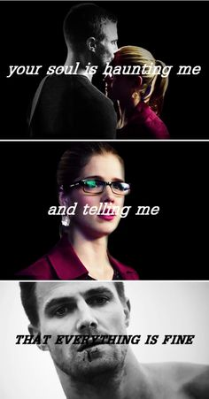 All my friends ask me why I stay strong. Tell 'em when you find true love it lives on. #Olicity