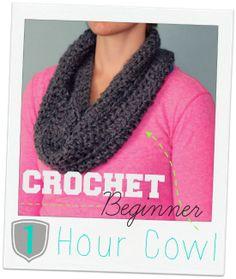 Crochet Beginner 1 Hour Cowl ‹ FYNES DESIGNSFYNES DESIGNS