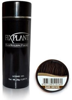 FIXPLANT Keratin Hair Building Fibers, Hair Loss Concealer. the 30 Second HAIR TRANSPLANT Regular Size 25 gm, 0.88 oz (Dark Brown) >>> This is an Amazon Affiliate link. Click image for more details.