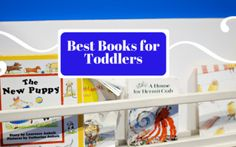 A Handy Guide to the 8 Best Books for Toddlers