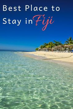 When it comes to luxurious islands around the world, Fiji is certainly near the top for very good reason. But the million dollar question when you visit an island like Fiji is.where do you stay? Fiji Travel, Asia Travel, Travel Guides, Travel Tips, Travel Destinations, New Zealand Travel, Travel Goals, Travel Couple, Australia Travel
