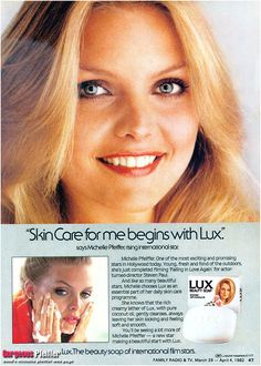 Michelle Pfeiffer for Lux
