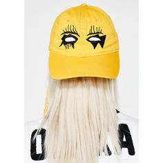 0a6dd90f770 Haculla Evil Eye Hat (£67) ❤ liked on Polyvore featuring accessories