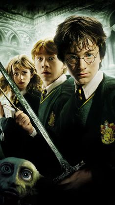 """Wallpaper for """"Harry Potter and the Chamber of Secrets"""" (2002)"""