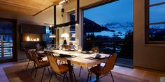 Located on the top of the private domain of « Mont Arbois », ten minutes away from #Megève village, the 500 square feet #chalet Eugenia is a perfect mix between a #contemporary and a savoyard #design.   #luxury #chalet #skiing  www.lecollectionist.com  more information: http://clni.st/1qx8jxm