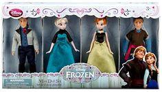 Disney Frozen Exclusive Mini Doll Set [Kristoff, Anna, Elsa, Hans] Disney Interactive Studios,http://www.amazon.com/dp/B00GC6X9BI/ref=cm_sw_r_pi_dp_fvTytb0NXVBW3WTN