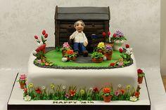 Garden Cake... #shedcake #cake #baking
