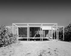 Walker Guest House, Sanibel Island FL, Paul Rudolph and Ralph Twitchell, Architects