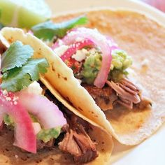 Bring the Taco Truck to You With Homemade Pork Carnitas: June may be all about grilling on YumSugar, but there's one noncharred dish that deserves a place next to its blackened counterparts: pork carnitas.