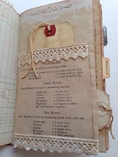 Vintage ephemera junk journal