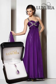 Want a necklace for your purple dress?  Try the ELOQUIO necklace from Luxuria jewellery.http://www.stylabs.co.nz/shop/product/Eloquio/7124.aspx