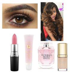"""Job interview makeup look"" by jackrabbit-i on Polyvore featuring beauty, MAC Cosmetics, Lancôme, Victoria's Secret and Dolce&Gabbana"