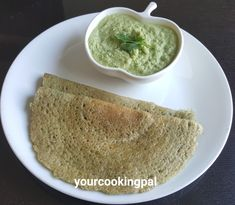 Step by step pictorial recipe for a healthy and nutritious Green Moong Dosa