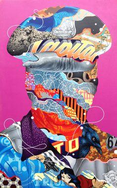 nuncalosabre. Pinturas y Murales   © Tristan Eaton