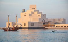 Qatar Video |  36 hours in Doha, Qatar. Peter Hughes visits the capital of Qatar, one of the richest places in the world. (click on image to view the video)