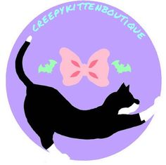 Here is the official logo for my shop! The wonderful and talented @cavesandsilence created and they are currently doing commissions so you should head over to their account!  ALSO. I'm going to also be selling cute/aesthetic bows and jewllery at my shop so be prepared! {#decoden #decodencases #handmade #diy #decocase #kitten #kawaii #cute #kawaiigirl #pastel #craft #magicalgirl #sweet #yummy #creepycute #sweets #candy #etsy #fairykei #lolita #art #whippedcream #silicon #cabochons} by…