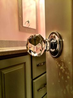 Custom glass knobs any recently finished home. Construction and design by David Weis and Meridian Construction