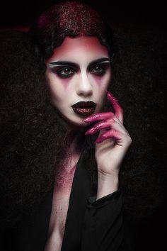 Karla Powell Make-up Artist - Vampire Kiss