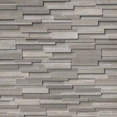 Add modern flair and sophistication to your home by choosing this MS International Gray Oak Ledger Panel Honed Marble Wall Tile. Stacked Stone Panels, Faux Stone Panels, Stacked Stones, Natural Stone Fireplaces, Marble Fireplaces, Honed Marble, Marble Wood, Gray Marble, Stone Cladding