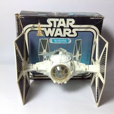 Vintage Kenner 1970's Star Wars Vehicle - White Imperial Tie Fighter Boxed  | eBay
