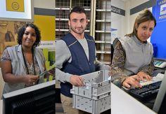 """[Recrutement] 60% des CDI recrutés seront des jeunes de moins de 30 ans !  La Poste a conclu le 22 janvier 2014 un accord relatif au """"contrat de génération"""" qui précise les engagements de l'entreprise à l'horizon 2015. Le contrat de génération, créé par la loi du 1er mars 2013, répond à trois enjeux : l'insertion durable dans l'emploi des jeunes, le maintien dans l'emploi et le recrutement des seniors ainsi que la transmission des savoirs et des compétences."""