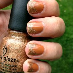 I Herd That over Desert Sun, both China Glaze, image from Polish Me Please