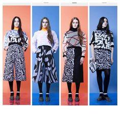 Leutton Postle AW14. LOVE IT!!!! #fashion #lfw #AW14 Knitwear, Fancy, Knitting, Clothes, Image, Design, Fashion, Outfits, Moda