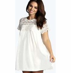 boohoo Woven Crochet Lace Shoulder Swing Dress - ivory Look knock-out on nights out in figure-skimming bodycon fits, flowing maxi lengths and stunning sequin-embellished occasion dresses. This season make for satin sheen slip dresses in mink nudes, and ma http://www.comparestoreprices.co.uk/dresses/boohoo-woven-crochet-lace-shoulder-swing-dress--ivory.asp