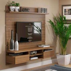 Living room tv wall decor tv shelf 19 new Ideas Room Design, Interior, Tv Wall Design, House Interior, Tv Room Design, Rustic Living Room, Living Room Tv Unit Designs, Living Room Tv Wall, Living Room Designs