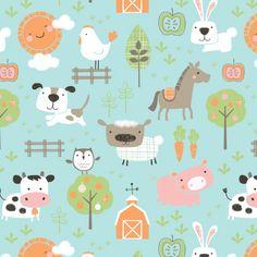 Farmyard Print by Maeve Parker // www.maeveparker.com