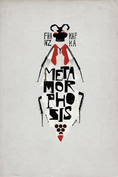 Franz Kafka, Metamorphosis. Design: Christos Kourtoglou