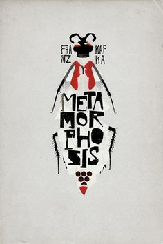 The Metamorphosis by Franz Kafka La Métamorphose de Franz Kafka • culture • reading • litterature • artwork