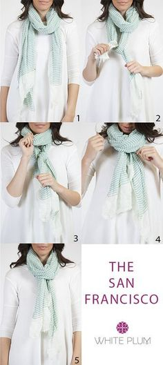 How To Wear Scarves In Spring Scarfs Tying Ideas Ways To Wear A Scarf, How To Wear Scarves, Tie Scarves, Spring Dresses, Winter Dresses, Dress Winter, Scarfs Tying, Looks Style, My Style