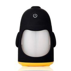 Ultrasonic USB Penguin Shaped Air Purifier