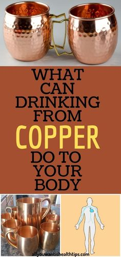 11 Reasons Why You Should Drink Water In Copper Vessels Natural Health Tips, Good Health Tips, Health And Beauty Tips, Health Advice, Healthy Tips, Healthy Detox, Health Goals, Healthy Foods, Health And Fitness Articles