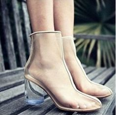 Transparency Shoes