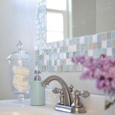 Bathroom DIY – Make Your Own Gorgeous Tile Mirror - DIY & Crafts