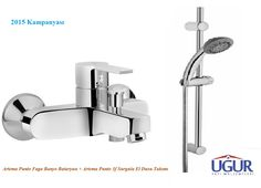Artema Punto Fuga Banyo Bataryası + Artema Punto 3f El Duşu Seti134,75 TL + KDV