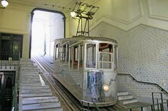 Elevador da Bica / The Bica Funicular, Lisbon - PORTUGAL. Was opened on 28 June, 1892.