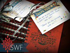 AWANA Volunteer appreciation gifts - Sparks Will Fly Blog