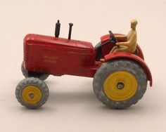 Dinky Toys Massey-Harris Tractor #300 (1954-1962)
